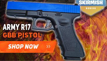 army r17 glock gbb pistol bb gun