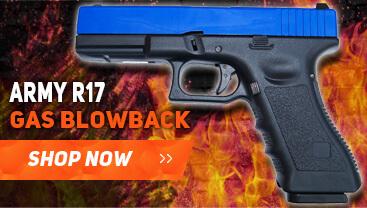 Army r17 gas blowback pistol