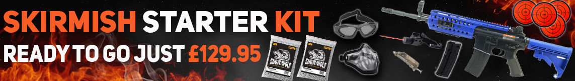 Airsoft skirmish starter kit