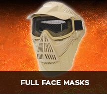 full face airsoft masks