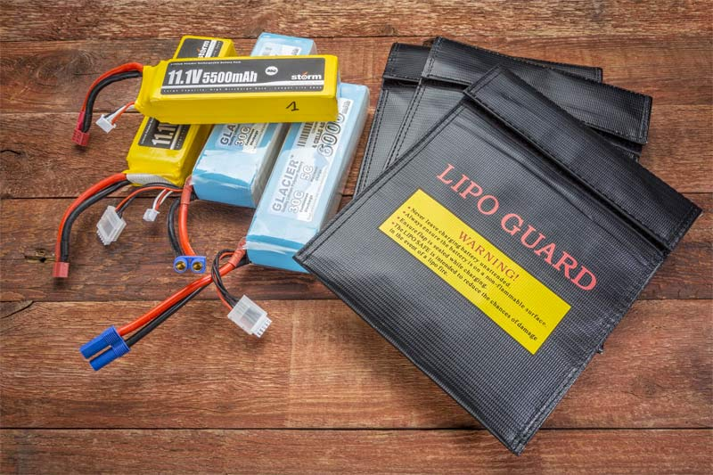 lipo charging bag