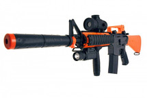 Double Eagle M83 B2 electric Semi Automatic bb gun in orange