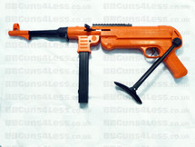 Double Eagle M40 Foldable Stock Spring Rifle in Orange