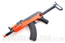 Double Eagle M901C AK47 Electric Rifle in Orange/Black