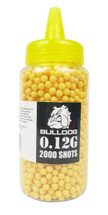 Bulldog bb pellets 2000 x 0.12g Bottle