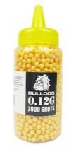 Bulldog bb pellets 2000 x 0.12g Bottle