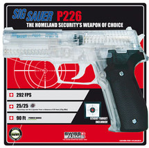 Sig Sauer P226 Airsoft BBgun with free target