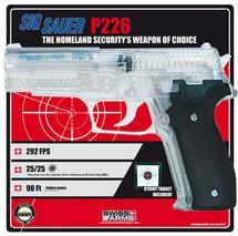 Sig Sauer P226 Airsoft BBgun with free target