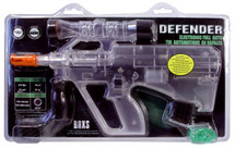 Defender of World Mini Electric BB Gun Clear
