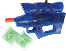Soft Air USA Defender of World Mini Electric BB Gun with 2 packet of Pellets in Blue