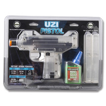 Cybergun Spring Powerd UZI Pistol in Clear