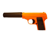 Galaxy G1A Full Metal BB Gun with Silencer in Orange