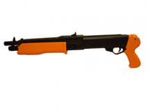 HFC HA2320B Heavy weight anti-shock ABS Pump Action BB ShotGun in Orange