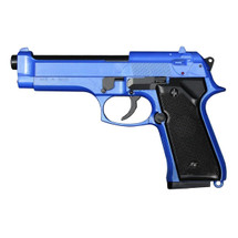 HFC HA-118 M9R Combat spring BB pistol in Two-Tone blue
