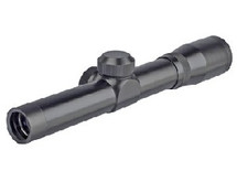 2X20 bb gun pistol scope in black