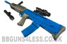 Old style L85A2 SA80 type bb gun in blue