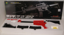 M16 rifle bb gun spring powerd
