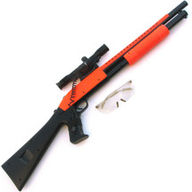 Cyma P389A Coloured Pump Action Shotgun BB Gun in orange