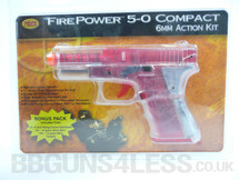FirePower 5-0 Translucent with red mag