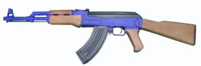 Cyma P1093 AK47 in blue