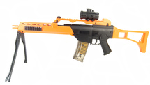 Double Eagle M41K G36 replica BB Gun with folding stock & bipod
