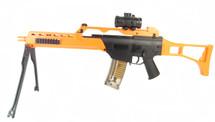 Double Eagle M41K G36 replica BB Gun with folding stock & bipod