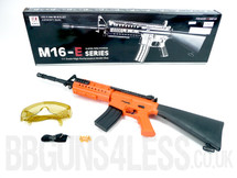 M16-E-101 rifle bb gun spring powerd