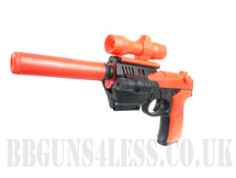 M91 Spring BB gun pistol in Orange