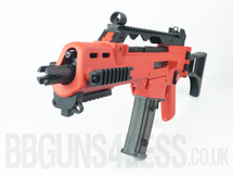 SRC SR36 Two Tone Electric Rifle in Orange