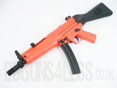 SRC SR5A4 Two Tone Electric Rifle in Orange