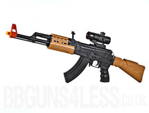 Army Force AK-47 Assault Rifle toy gun with sound