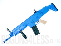 Vigor 8902 SCAR Spring Rifle with folding stock in blue