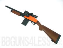 Bison C401B+2 pump action Shotgun with Scope