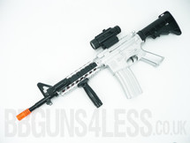 M16 Kids Toy gun TD-2011A in silver