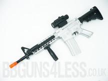 M16 Kids Toy gun TD-2011A in silver