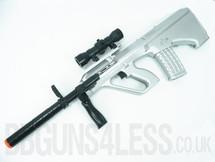 Kids Toy gun Steyr AUG Rifle TD 2013A in silver