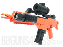 Double Eagle M48p spring powered mp5 style airsoft BB gun