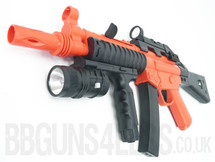 Cyma HY015B Spring Powered Rifle BB Gun with LED Flashlight in Orange