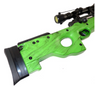 well mb01 green spring  sniper rifle stock