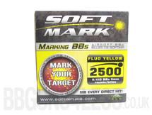 Soft Mark bb pellets 2500 x 0.12g fluo in box