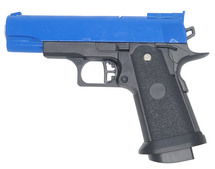 Galaxy G10 Full Metal Pistol BB Gun in blue - new style -