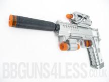 Kids Toy gun pistol with infra red light lx3100