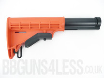 Spare adjustable tactical stock for m83 BB Gun