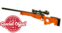 Double Eagle M57 bb gun Spring Sniper Rifle with Scope in Orange (special offer)