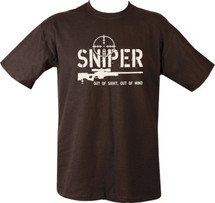 Sniper T-Shirt out of sight out of mind