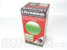 Ultrasonic bb pellets 5000 X 0.12 green in box