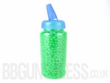 Ultrasonic bb pellets 2000 X 0.12 green in bottle