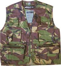 Kids Tactical Vest in dpm camo