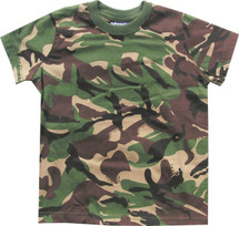 Kids T-shirt British dpm camo