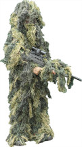 Kids Ghillies Snipers Suit - Woodland Camo